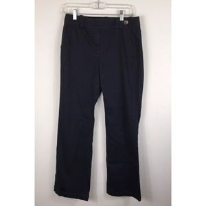{Ann Taylor} Signature Fit Wide Leg Navy Pants